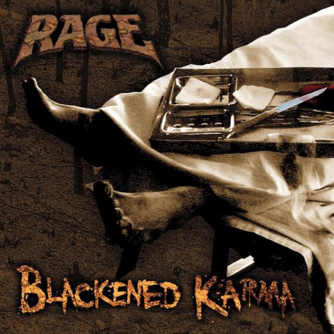 Rage - Blackened Karma - Single Cover
