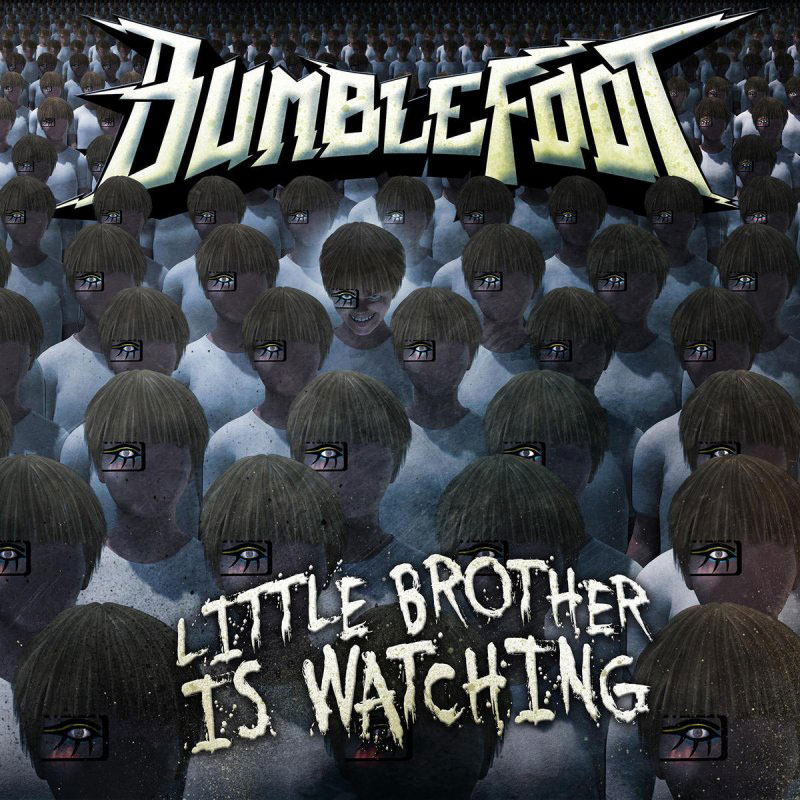 "Ron ""Bumblefoot"" Thal - Little Brother Is Watching - Album Cover"