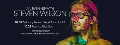 Steve Wilson - An Evening With Steve Wilson - Tour 2017 - Promo