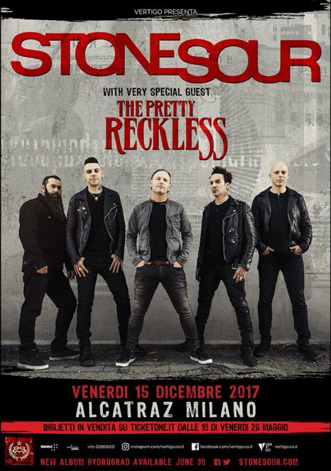 Stone Sour - The Pretty Reckless - Alcatraz Tour 2017 - Promo