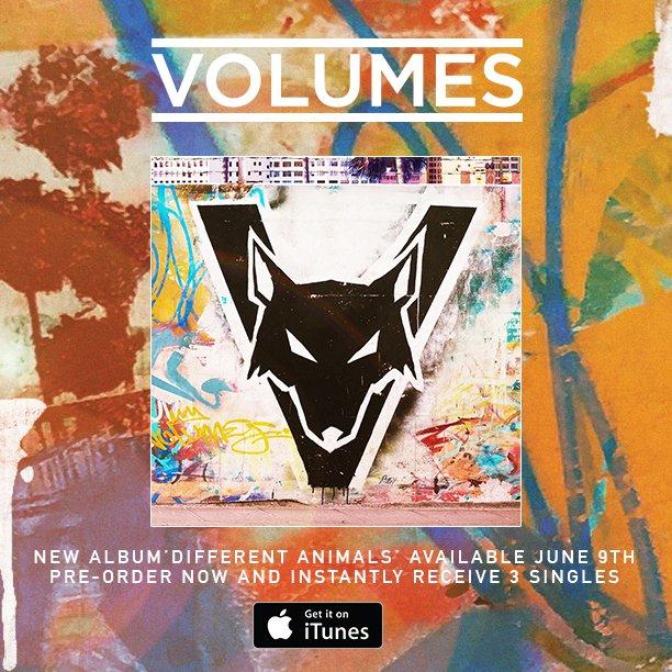 Volumes - Different Animals - Album Cover