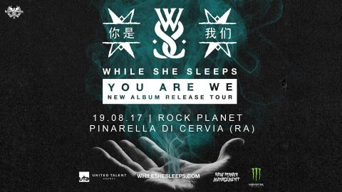 While She Sleeps - Rock Planet - Tour 2017 - Promo