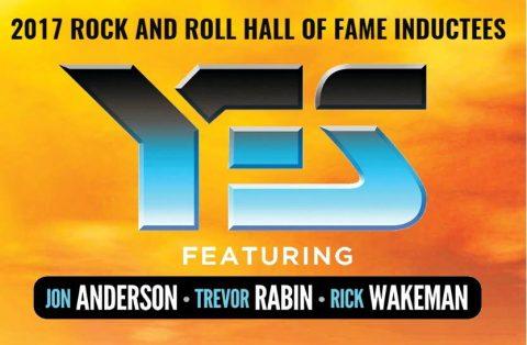 Yes Featuring Jon Anderson Trevor Rabin Rick Wakeman - Tour 2017 - Promo