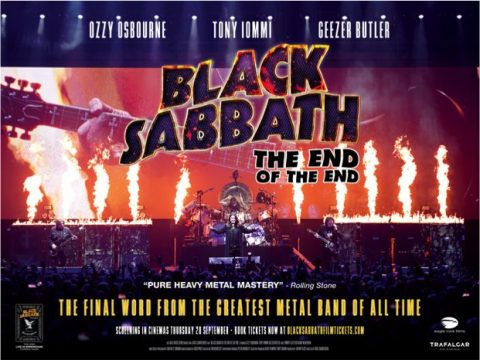 Black Sabbath - The End Of The End - Locandina Cover