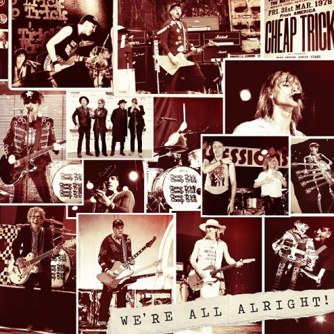 Cheap Trick - Were All Alright - Album Cover