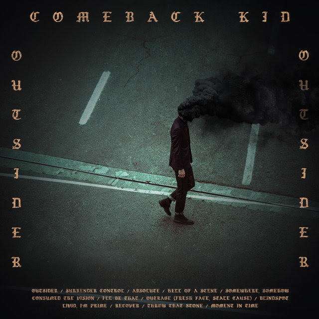 Comeback Kid - Outsider - Album Cover