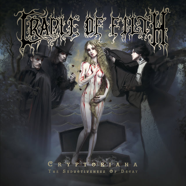 Cradle Of Filth - Cryptoriana The Seductiveness Of Decay - Album Cover