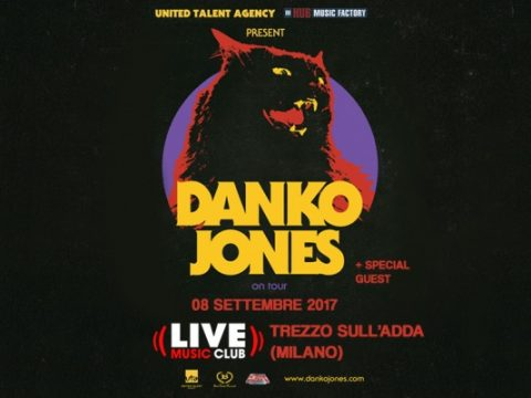 Danko Jones - Live Music Club - Tour 2017 - Promo