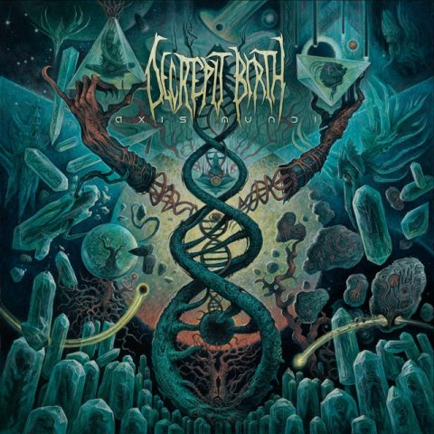 Decrepit Birth - Axis Mundi - Album Cover
