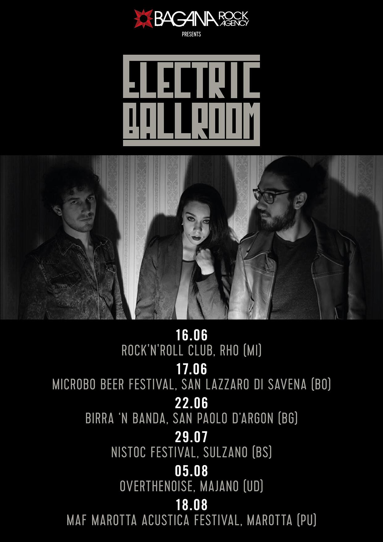 Electric Ballroom - Tour 2017 - Promo