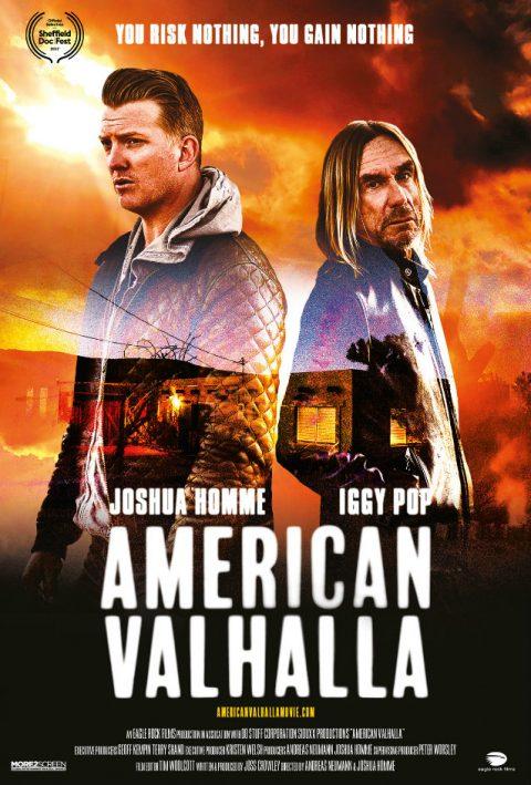 Iggy Pop - Joshua Homme - American Valhalla - Locandina Cover