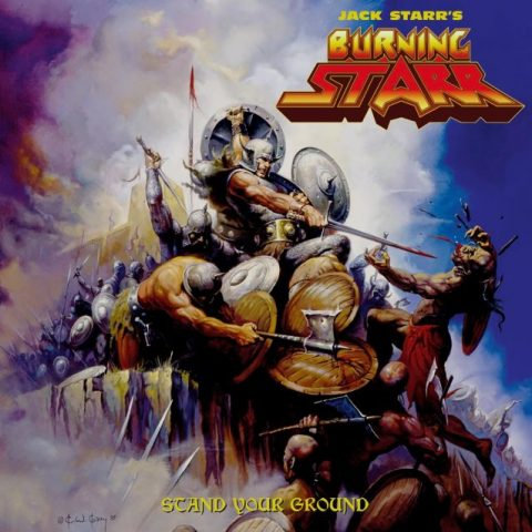 Jack Starr - Burning Starr - Stand Your Ground - Album Cover