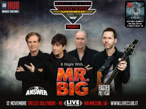 Mr Big - The Answer - Faster Pussycat - Live Music Club 2017 - Promo