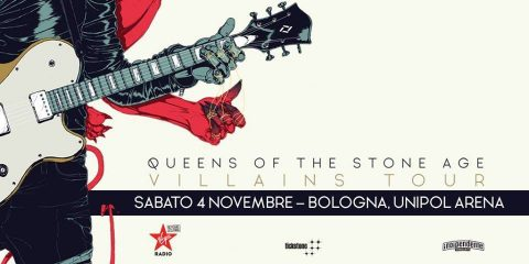 Queens Of The Stone Age - Unipol Arena - Villains Tour 2017 - Promo