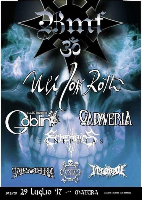 Uli Jon Roth - Basilicata Metal Fest - Tour 2017 - Promo