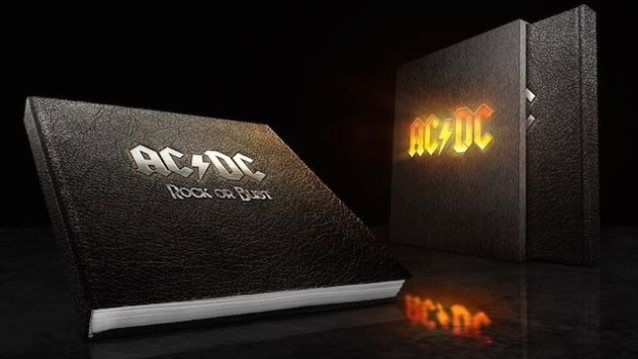 ACDC - Rock Or Bust The Official Photographic Tour Book - Book Cover