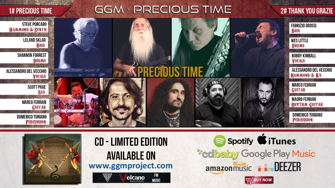 All Star Band - Precious Time - Album Cover