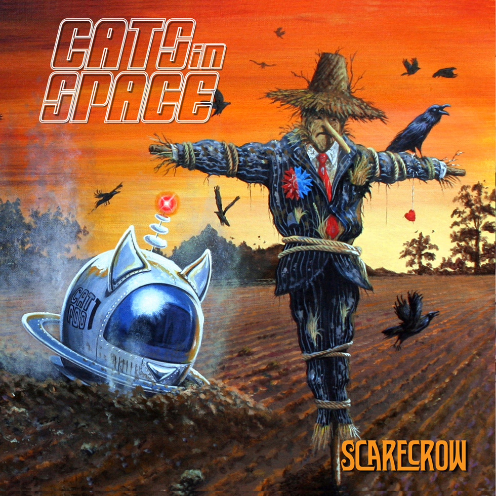 Cats In Space - Scarecrow - Album Cover