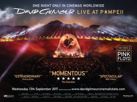 David Gilmour - Live At Pompeii - Locandina Cover