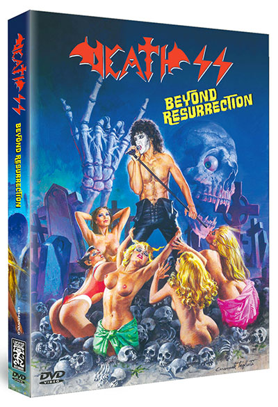 Death SS - Beyond Resurrection - DVD Cover
