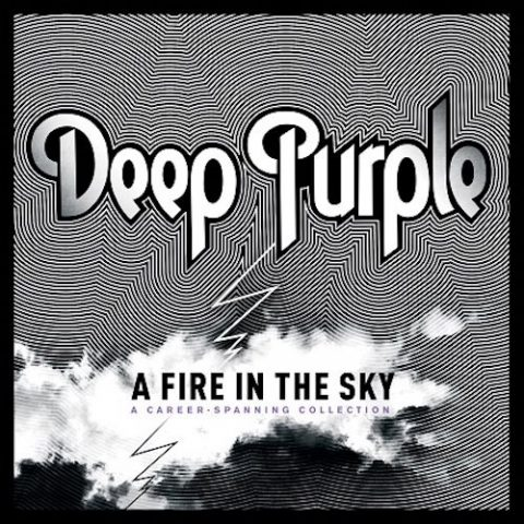 Deep Purple - A Fire In The Sky - Album Cover