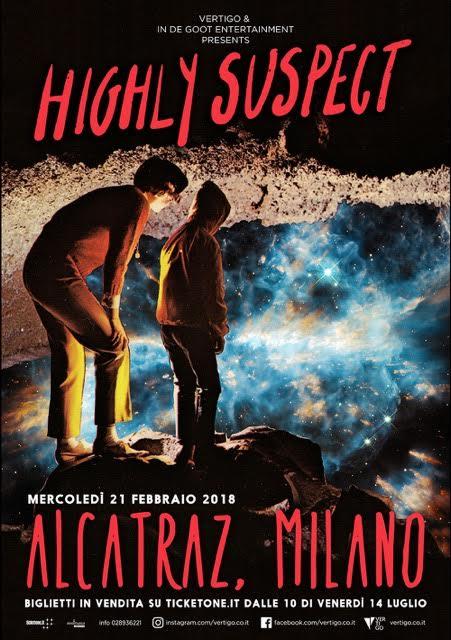 Highly Suspect - Alcatraz Tour 2018 - Promo