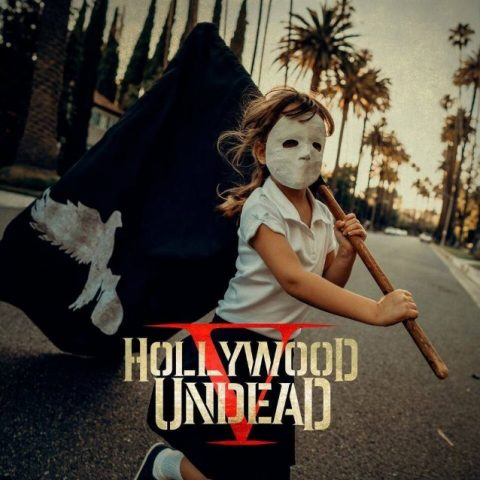 Hollywood Undead - V - Album Cover