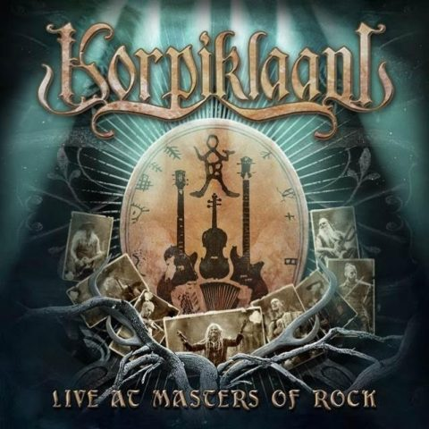 Korpiklaani - Live Masters Of Rock - Album Cover