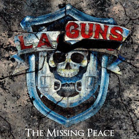La Guns - The Missing Peace - Album Cover