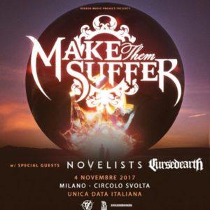 Make Them Suffer + guests @ Milano @ Circolo Svolta