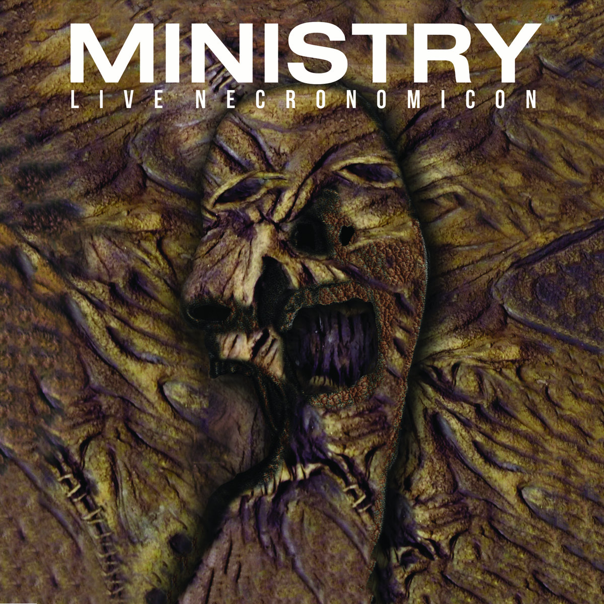 Ministry - Live Necronomicon - Album Cover