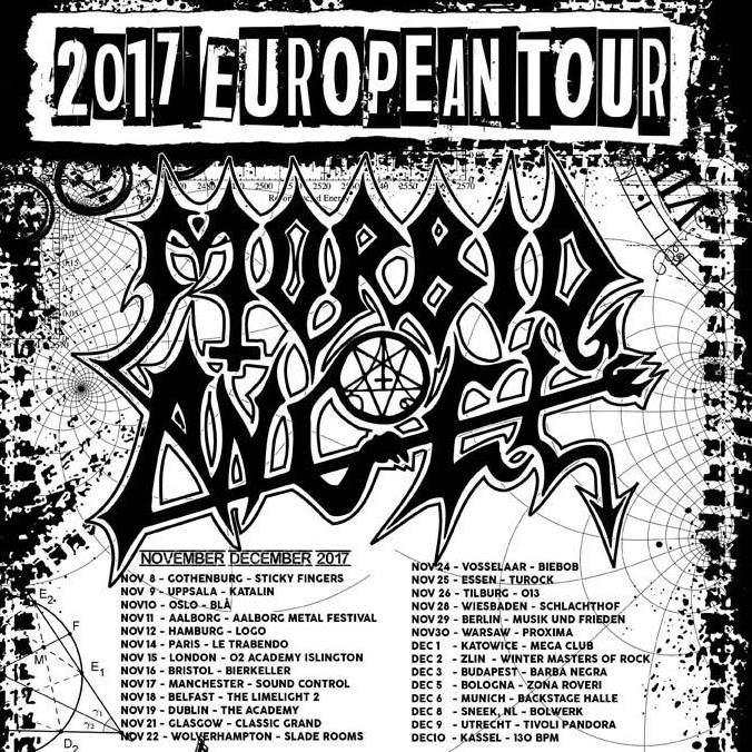 Morbid Angel - European Tour - 2017 - Promo