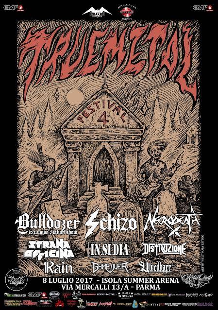 Truemetal Festival - Isola Summer Arena 2017 - Promo