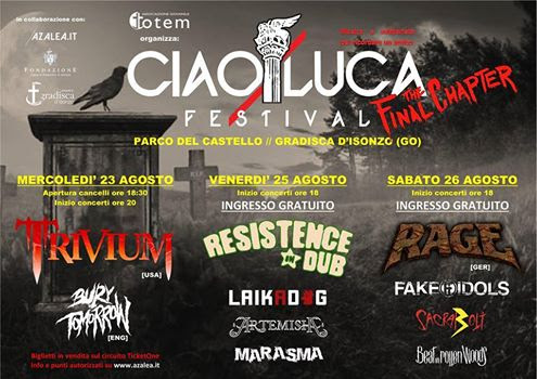 Fake Idols - Ciaoluca Festival - Tour - 2017 - Promo