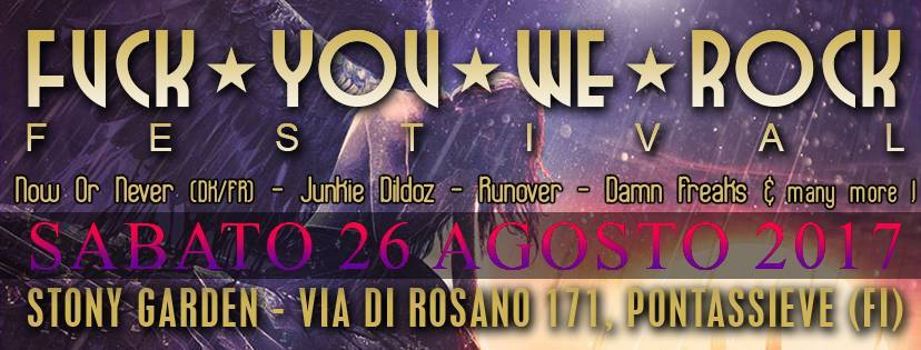 Fuck You We Rock Festival XIII - Promo