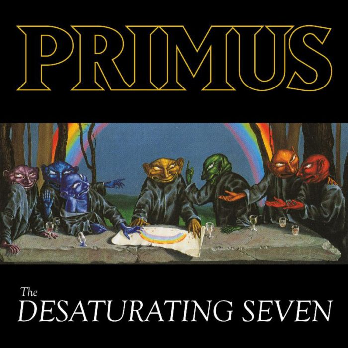 Primus The Desaturating Seven - Album Cover