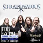 Stratovarius - Elvenking - Kaledon - Fabrica Di Roma Festival - Tour 2017 - Promo