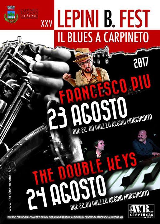 The Double Keys - Lepini Blues Festival - Tour 2017 - Promo