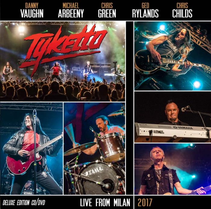 Tyketto - Live From Milan 2017 - Album Cover