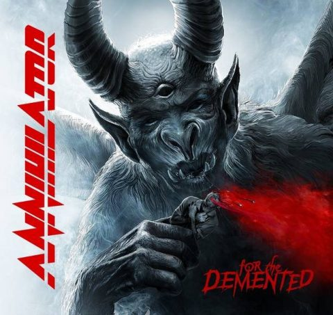 Annihilator - For The Demented - Album Cover