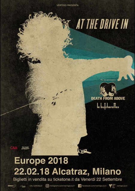 At The Drive In - Death From Above 1979 - le Butcherettes - Alcatraz Europe Tour 2018 - Promo