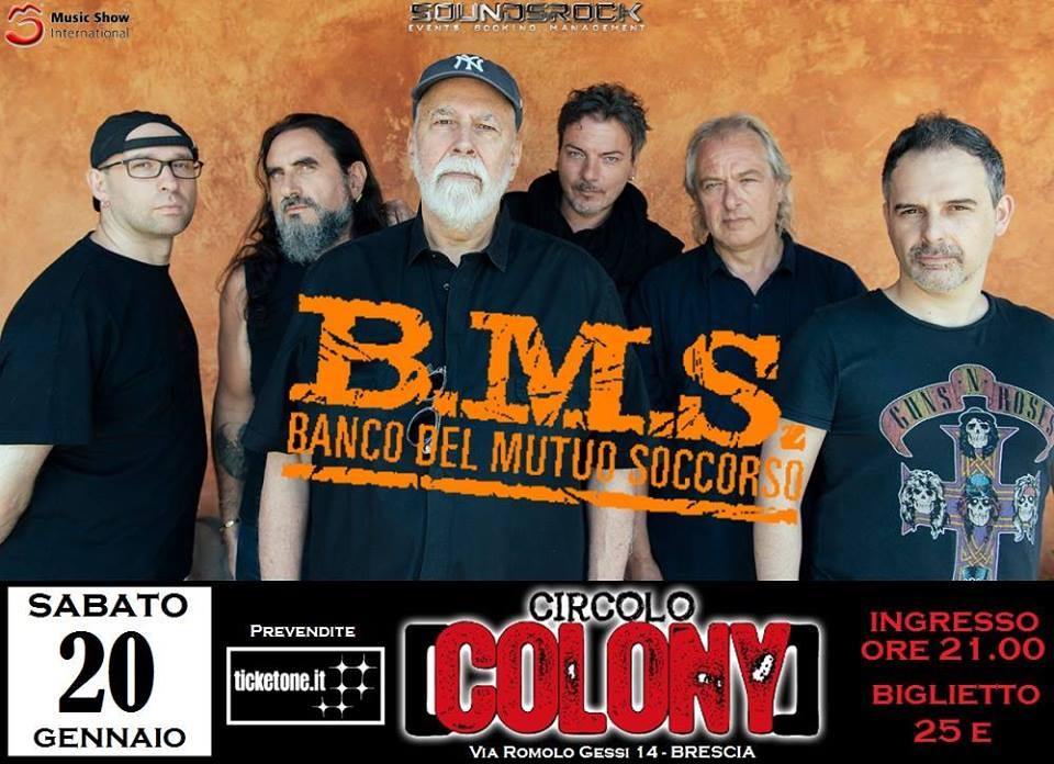 Banco Del Mutuo Soccorso - Circolo Colont - Tour 2018 - Promo