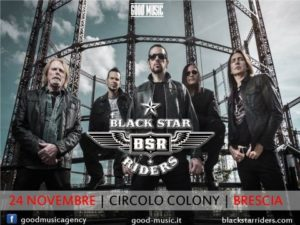 Black Star Riders + guests @ Brescia @ Circolo Colony
