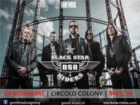 Black Star Riders - Circolo Colony - Tour 2017 - Promo