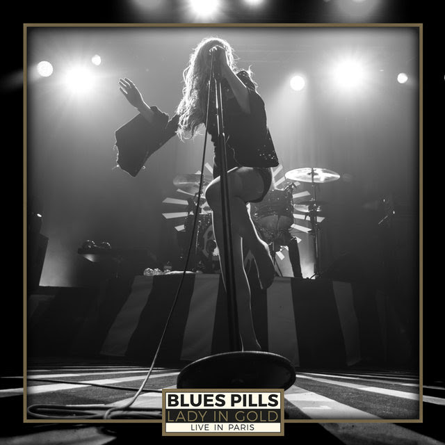 Blues Pills - Lady In Gold Live In Paris - DVD Cover