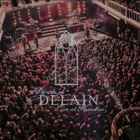 Delain - A Decade Of Delain LIve At Paradiso - Album Cover