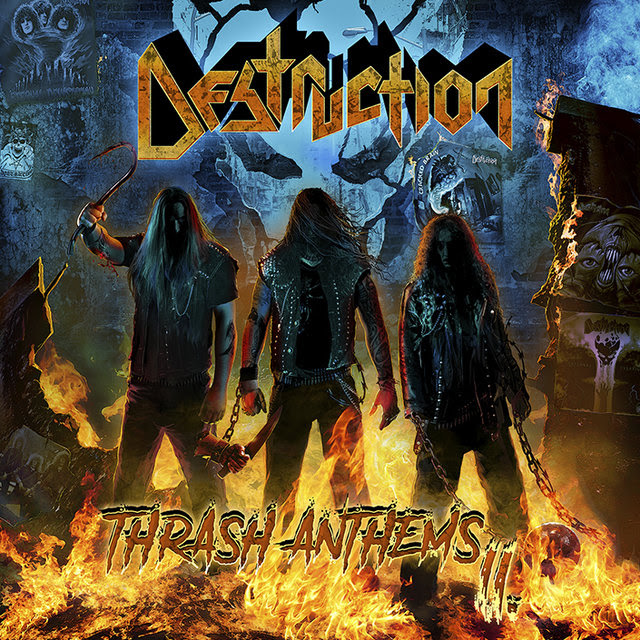 Destruction - Thrash Anthems II - Album Cover