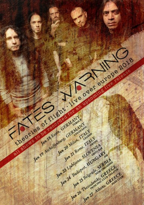 Fates Warning - Theories Of Flight Live Over Europe 2018 - Promo
