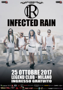Infected Rain @ Milano @ Legend Cub Milano