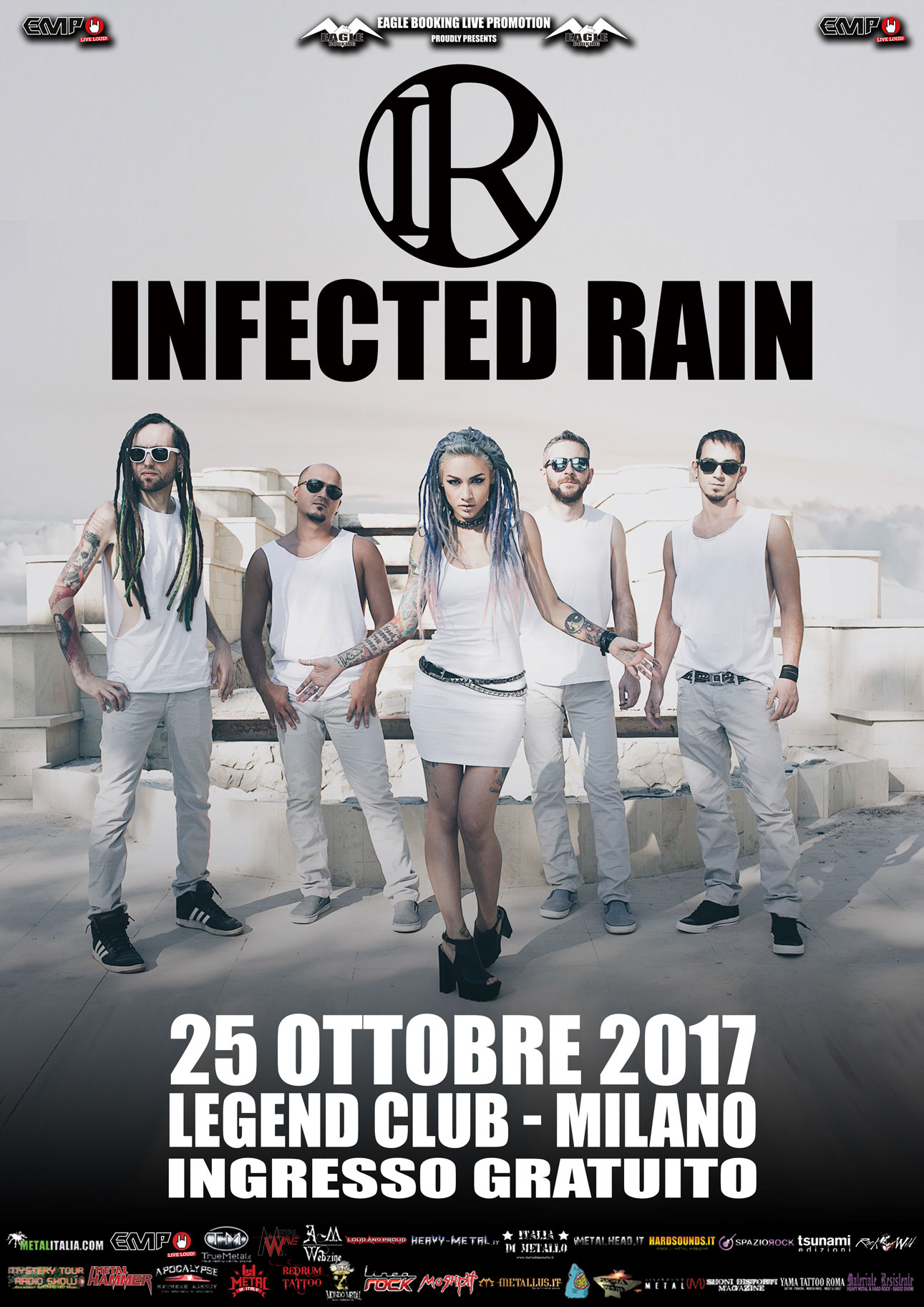 Infected Rain - Legend Club - Tour 2017 - Promo